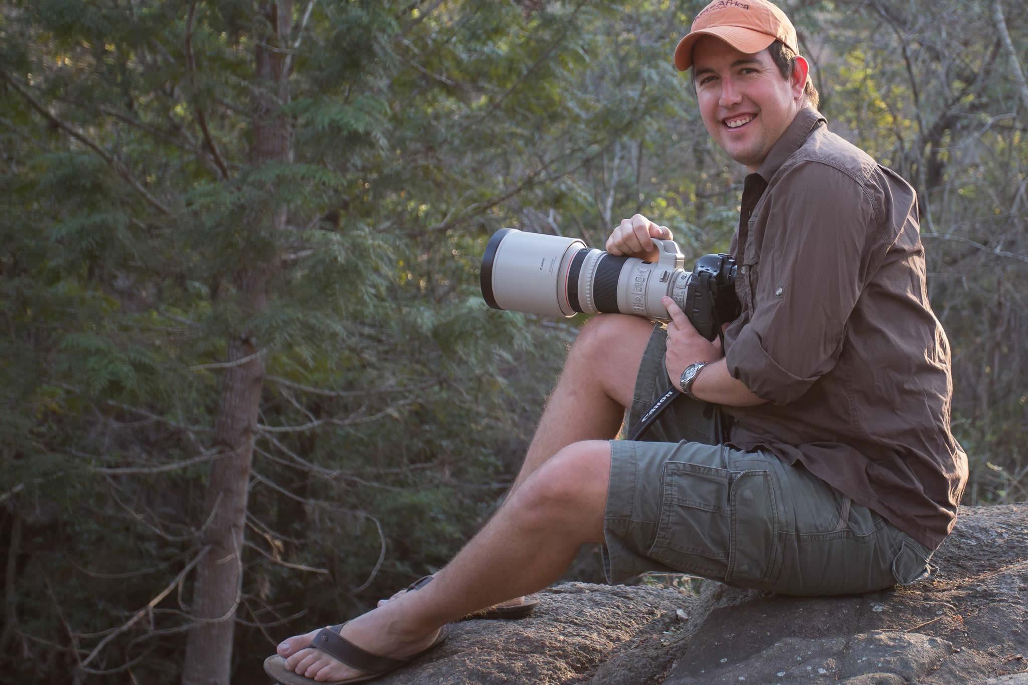 Johan Van Zyl, Professional Wildlife Photographer and Photography Safri Tour Guide in South Africa, Mpumalanga