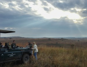 Van Zyl Photography - Safari Moments Portfolio Gallery Category Professional Photography - Sundowner Experience in the Bushveld on Safari